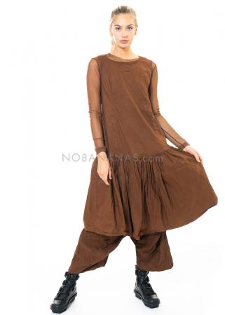 RUNDHOLZ DIP, ärmelloses Kleid mit nach unten versetzter Taille 2202190908