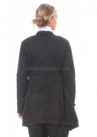 RUNDHOLZ DIP, coat with attached fabric segments 2202201206