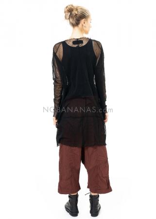 RUNDHOLZ DIP, oversized Tüll-Kleid mit Applikationen 2202550905