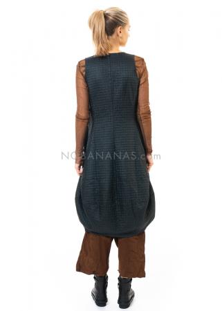 RUNDHOLZ DIP, gestepptes Kleid 2202850908