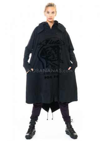 RUNDHOLZ BLACK LABEL, Kleid mit Tafteinsätzen 2203280901