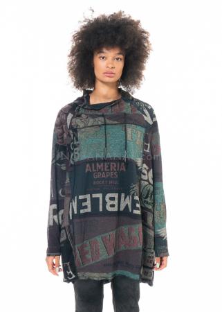 RUNDHOLZ BLACK LABEL, kurzes Kleid mit asymmetrischen Kragen 2203640902