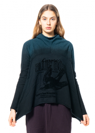 RUNDHOLZ BLACK LABEL, warm pullover with print 2203650712