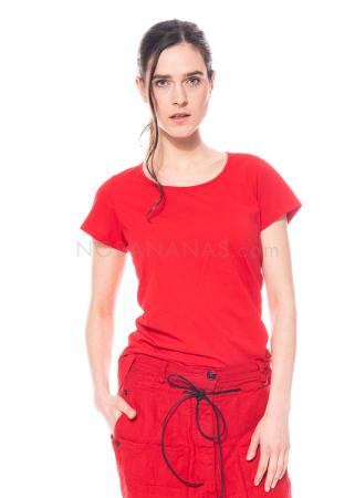 RUNDHOLZ DIP, langes einfarbiges T-Shirt 1212300511