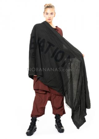 RUNDHOLZ DIP, großer, zweilagiger Schal mit Print 2202551417