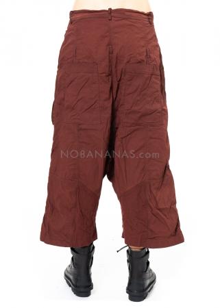 RUNDHOLZ DIP, verkürzte Hose mit aufgesetzten Taschen 2202600105