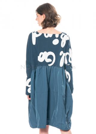 RUNDHOLZ BLACK LABEL, Kleid aus Sweatshirtstoff mit Printmuster 1213290904