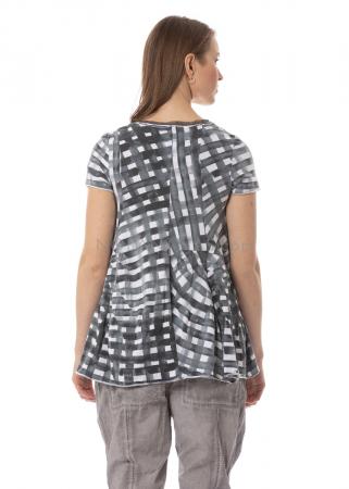RUNDHOLZ BLACK LABEL, T-Shirt mit feiner Meshkante 1203300507