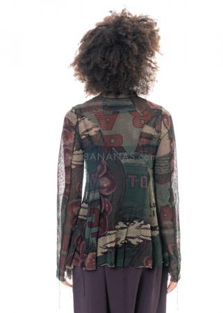RUNDHOLZ BLACK LABEL, Jacke aus leicht transparentem Baumwollmesh 2203341105