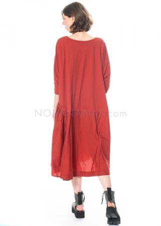 RUNDHOLZ BLACK LABEL, Kleid mit asymmetrischem Schößchen 1213360901