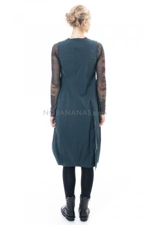 RUNDHOLZ BLACK LABEL, ärmelloses Kleid mit Tüllkante 2203440915