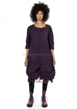 RUNDHOLZ BLACK LABEL, weites Kleid im Edelknitterlook 2203500905