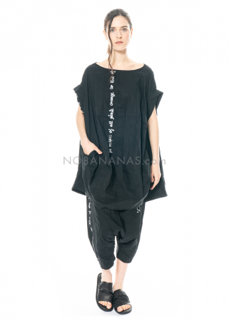 RUNDHOLZ BLACK LABEL, comfortable 7/8 Hose with very deep crotch and print 1213630111