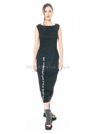 RUNDHOLZ BLACK LABEL, ärmelloses Etuikleid mit Print 1213630907