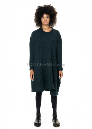 RUNDHOLZ BLACK LABEL, Oversize Kleid aus gewalkter Wolle 2203897308