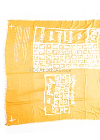 RUNDHOLZ BLACK LABEL, Schal mit Print 1213961403