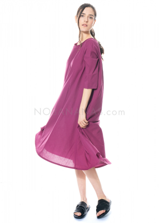 LABO.ART, dress Abito Tauro Neve in cotton