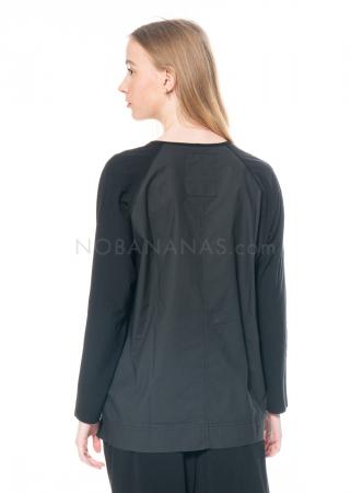 annette görtz, Langarm Shirt Anka aus Baumwoll-Crepe-Jersey