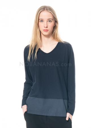 annette görtz, long sleeve shirt Anka in cotton crepe jersey