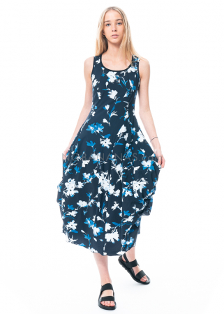 HIGH, Kleid At Length mit floralem Allover-Motiv