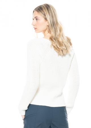 annette görtz, Pullover Blade aus grobem Baumwoll-Strick