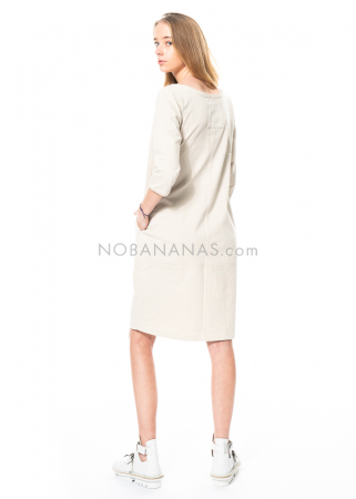 annette görtz, cotton dress Bo with Egon Schiele quote