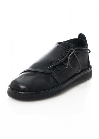 BREAD & BUTTER, seitlich geschnürte Schuhe in schwarz
