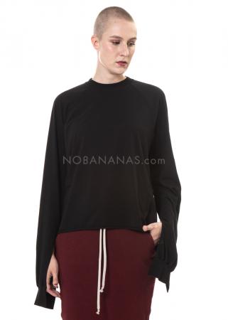 DRKSHDW by Rick Owens, oversized Sweatshirt mit Schlitzen black