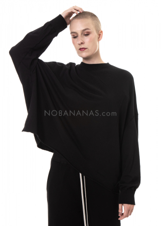 DRKSHDW by Rick Owens, leichtes oversized Sweatshirt black