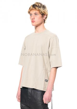 DRKSHDW by Rick Owens, onesized Walrus T-Shirt in Pearl