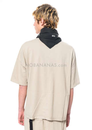 DRKSHDW by Rick Owens, onesized Walrus T-Shirt in Pearl