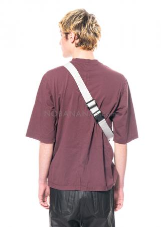 DRKSHDW by Rick Owens, Gürteltasche mit aufgesetzten Taschen in Black/Pearl