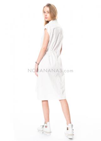 annette görtz, cotton dress Elle1 with drawstring