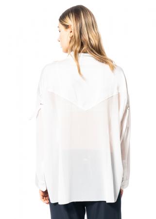 HIGH, übergroße leicht transparente Bluse Fetching
