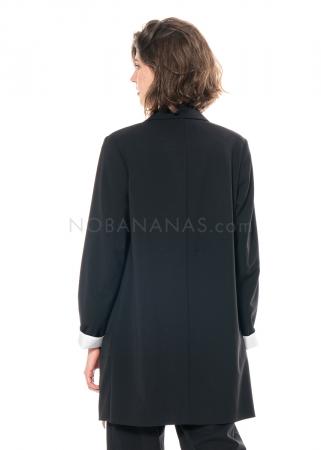 annette görtz, lange Jacke Fil aus leichter Wollmischung
