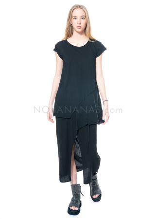studiob3, skirt Frivola with overlapping panels