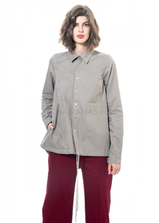 DRKSHDW by Rick Owens, snap shirt putty