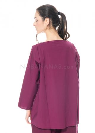 LABO.ART, Sweater Maglia Frasca Sushi plum