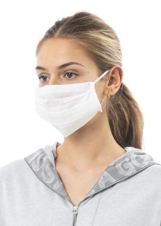 annette görtz, Mund- und Nasen-Maske in Offwhite