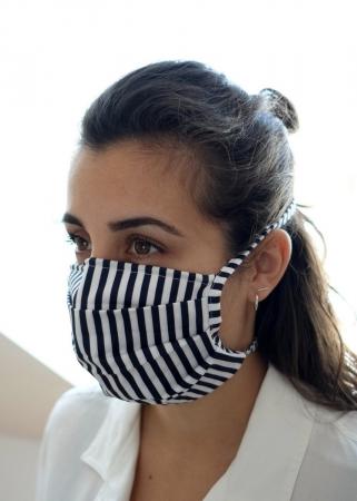 MINX, Hygiene-Maske mit Streifen
