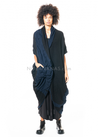 Moyuru, long knitted one size coat 203307