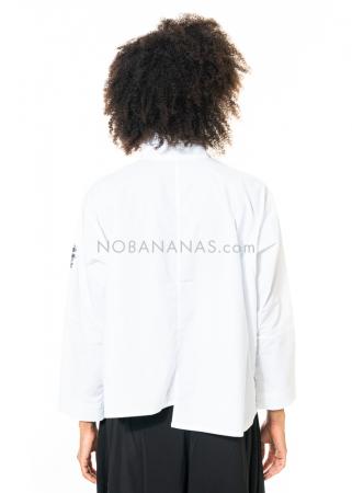 Moyuru, zweifarbige Bluse 203603