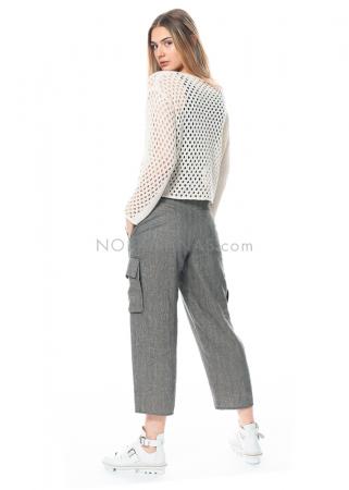 annette görtz, Hose Niki mit langem Gürtel und seitlichen Taschen