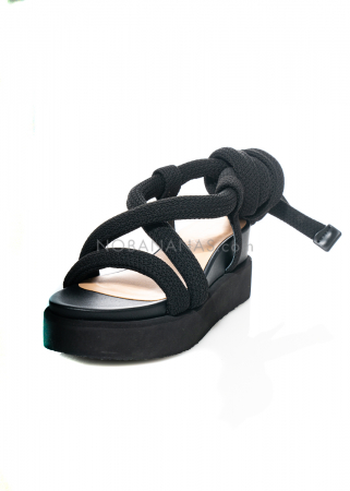 ISSEY MIYAKE x UNITED NUDE, strappy sandale Node with ropes