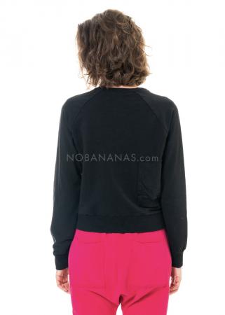 PAL OFFNER, kurzes asymmetrisches Sweatshirt Größe 2