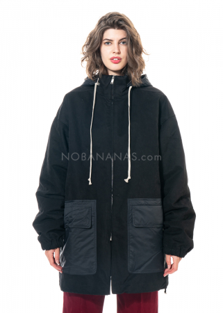 DRKSHDW by Rick Owens, padded parka black