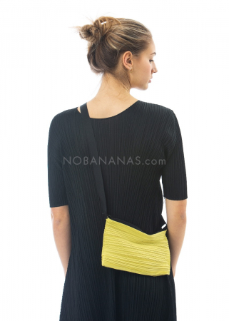 PLEATS PLEASE ISSEY MIYAKE, small bag in yellow