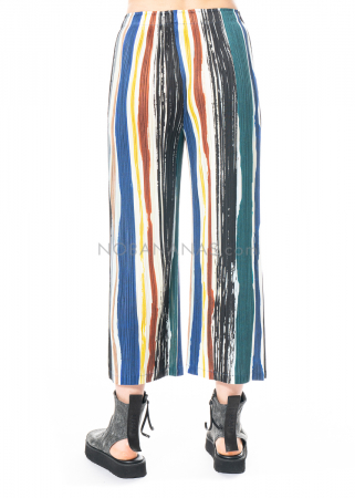 PLEATS PLEASE ISSEY MIYAKE, pants with stripe print