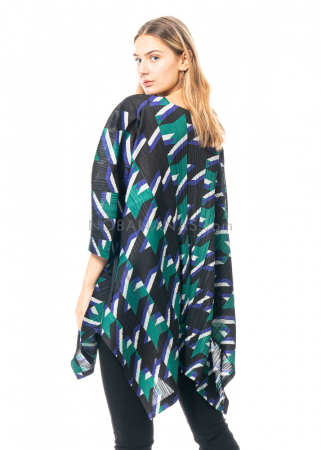 PLEATS PLEASE ISSEY MIYAKE, tunic with colourful print