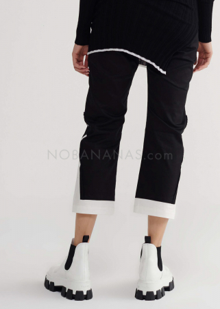 SYMETRIA, cropped cotton pants